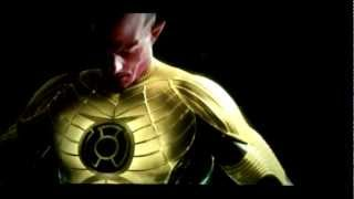 Green Lantern 2 RISE OF THE ORACLE ( 2012 ) OFFICIAL