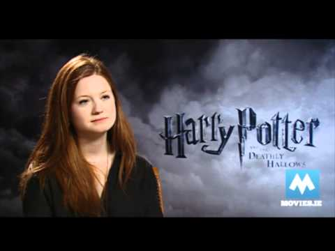 Bonnie Wright (Ginny Weasley) talks HARRY POTTER & her engagement to Jamie Campbell Bower, Ginny Weasley/Bonnie Wright talks about her relationship with Twilight star Jamie Campbell Bower. The actress plays Ginny Weasley in the final HARRY POTTER &...