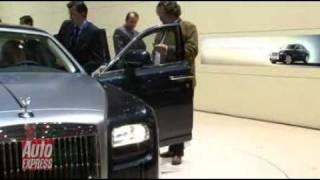 Geneva 2009: Rolls-Royce 200EX. Auto Express.