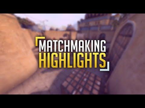 Cs:Go Dust 2 / MM / 1vs5 Clutch / Highlight