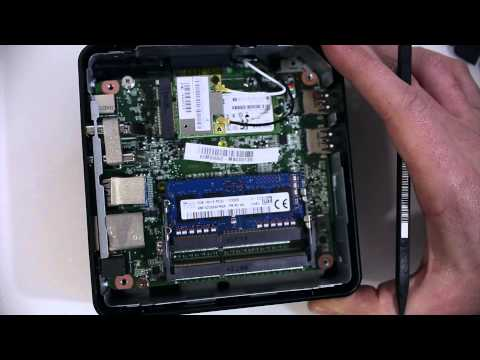 Upgrading memory in the Asus Chromebox M004U