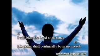 Psalm 34 Praise And Worship Song (lyrics And Chords