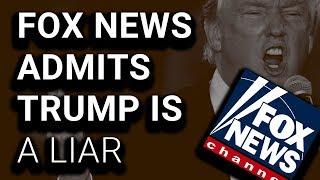 "SHOCK: Fox News Fact-Checks Trump: ""None Of That Was True"""