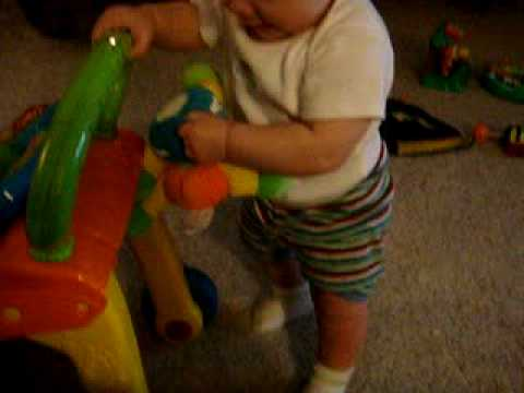 Boods 1st steps (with help) 7.5 mos