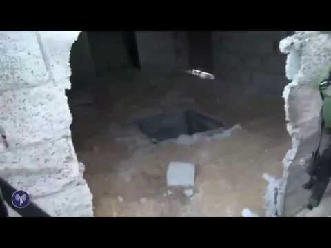 IDF Paratroopers Discover Tunnel Under a House in Gaza