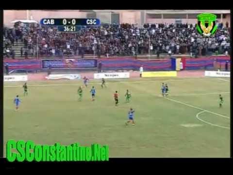 Coupe d'Algérie : CAB 1-1 CSC 1/32ème : Première mi-temps