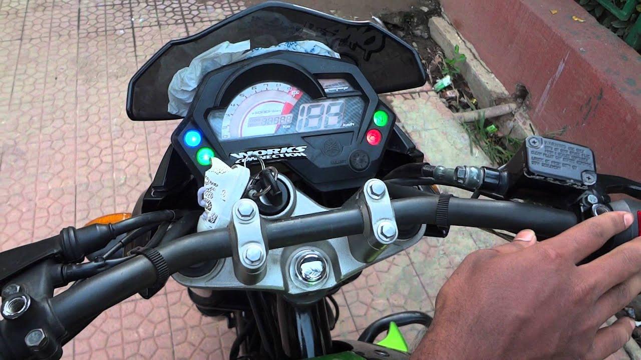 Yamaha Fazer Modified Silencer