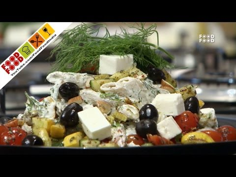 Whole Wheat Pasta Salad   Food Food India - Fat To Fit   Healthy Recipes