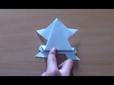 Faire une grenouille en origami grenouille sauteuse en papier youtube - Origami grenouille sauteuse pdf ...