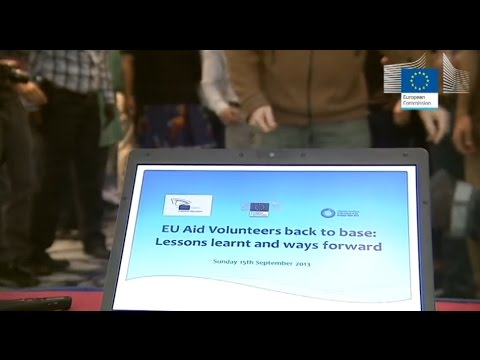 EU Aid Volunteers - we care, we act!