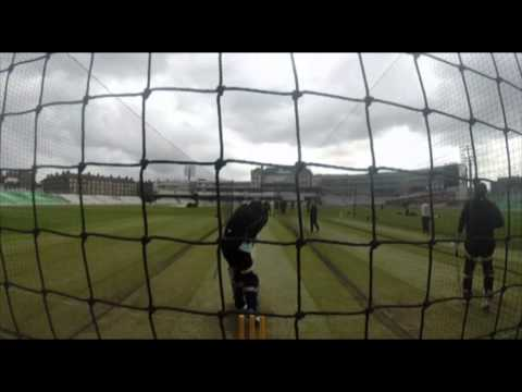 Kevin Pietersen Net Session at the Kia Oval