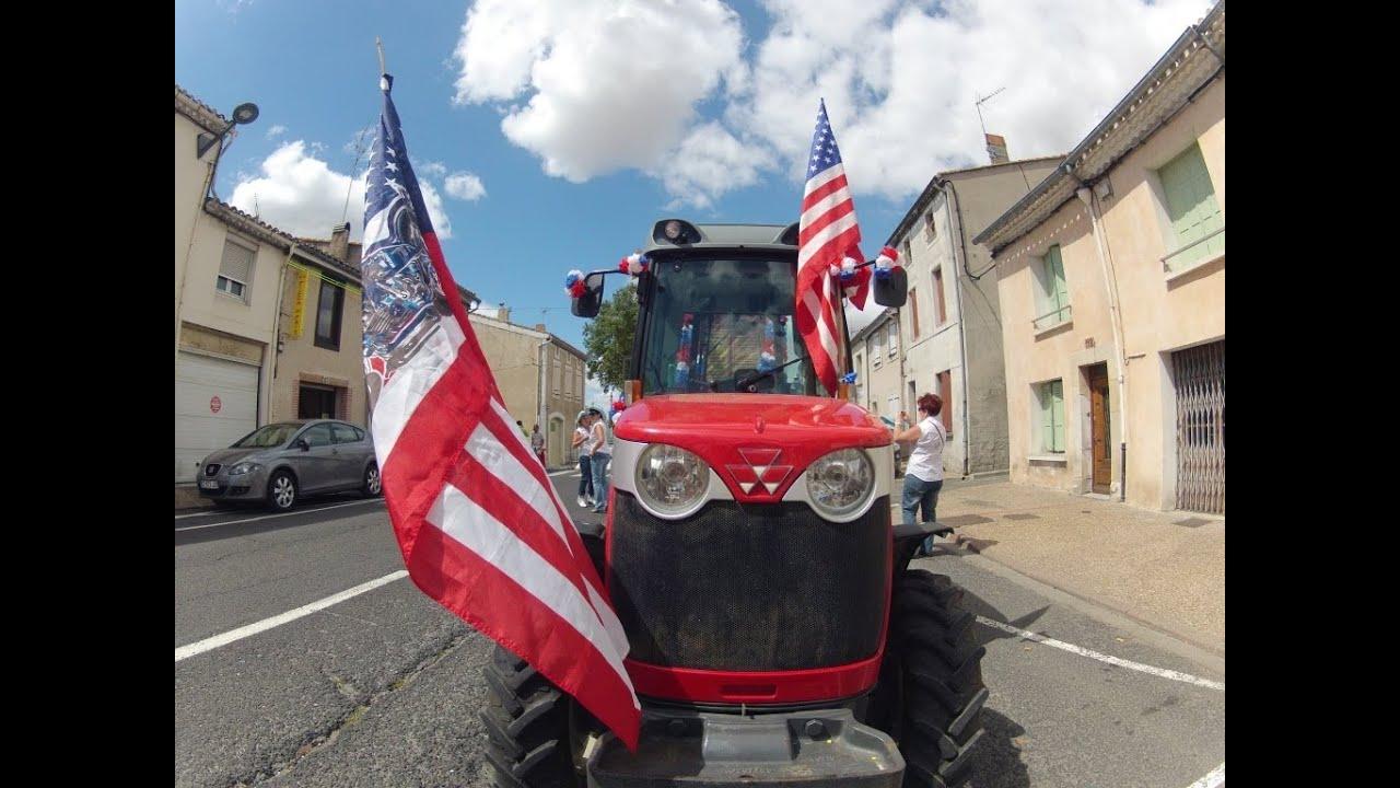 Des cow-boys à la fête du cassoulet de Castelnaudary 2012