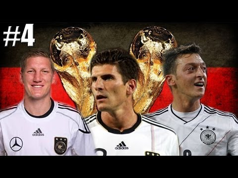 Germany's World Cup Journey Episode 4 - Let's Talk World Cup Draw (FIFA 14 Career Mode)