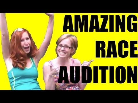 FLASHBACK FRIDAY! AMAZING RACE AUDITION :)