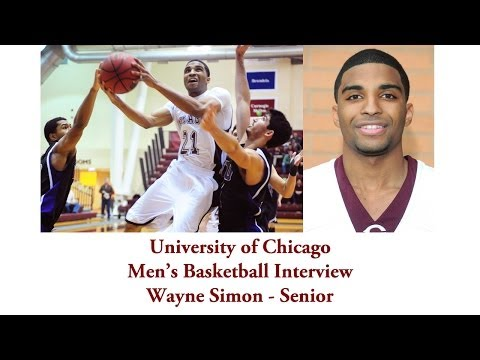 UChicago Athletics: Men's Basketball Interview with Wayne Simon