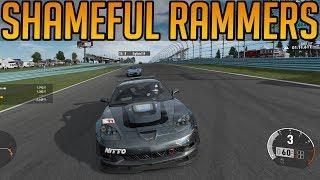 Forza 7:  Shameful Ramming Attempts