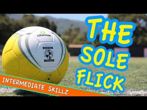 The Sole-Flick Soccer Trick