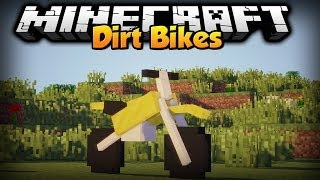 Minecraft - Mod Showcase - Dirtbikes