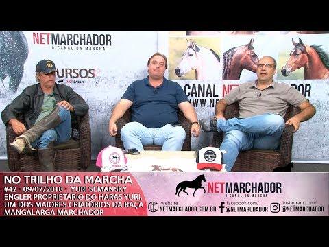 #42 - NO TRILHO DA MARCHA - 09/07/2018 - YURI SEMANSKY ENGLER - MANGALARGA MARCHADOR