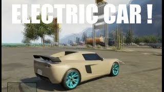 GTA V Voiture Electrique Très Rapide !! Où La Trouver