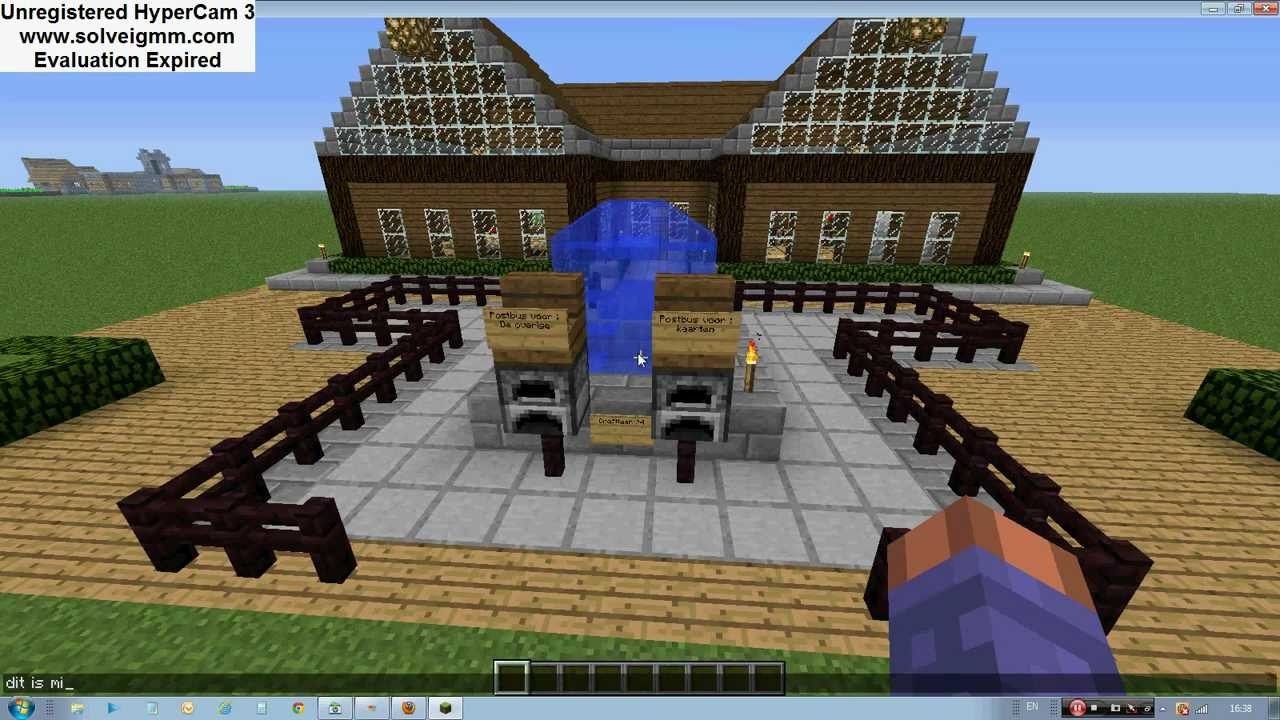 Minecraft Huis - Country House 461 - Inclusief map …