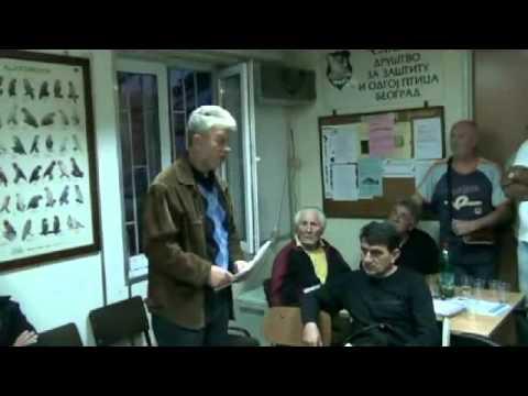 Takmicenje kanarinaca pesme  Srpski pevac -- Slavujar (