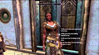Skyrim Hearthfire How To Get A Steward For Your House