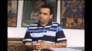 Crise atinge Mariana e prefeitura demite funcion�rios n�o-concursados