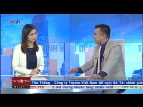 Công ty đa cấp Liên Kết Việt họ nói gì trên trường quay của Bản Tin Tài Chính Kinh Doanh 14/8/2015