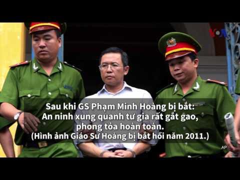 Âm thanh 12 phút giằng co trước khi GS Hoàng bị bắt