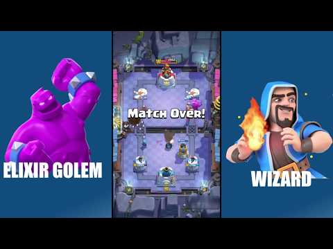Clash Royale Funny Moments with Elixir Golem and Bomb Tower | Andi Games