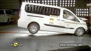 Fiat Scudo Crash Test 2012