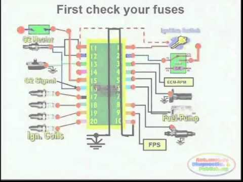 Short Circuit Detection & Wiring Diagram 1