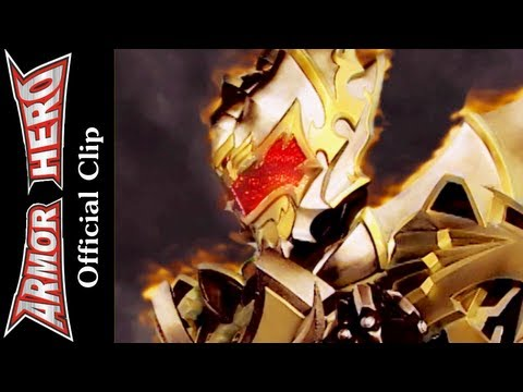 Armor Heroes Fights with Monsters - Official English Clip  [HD 公式] - 80