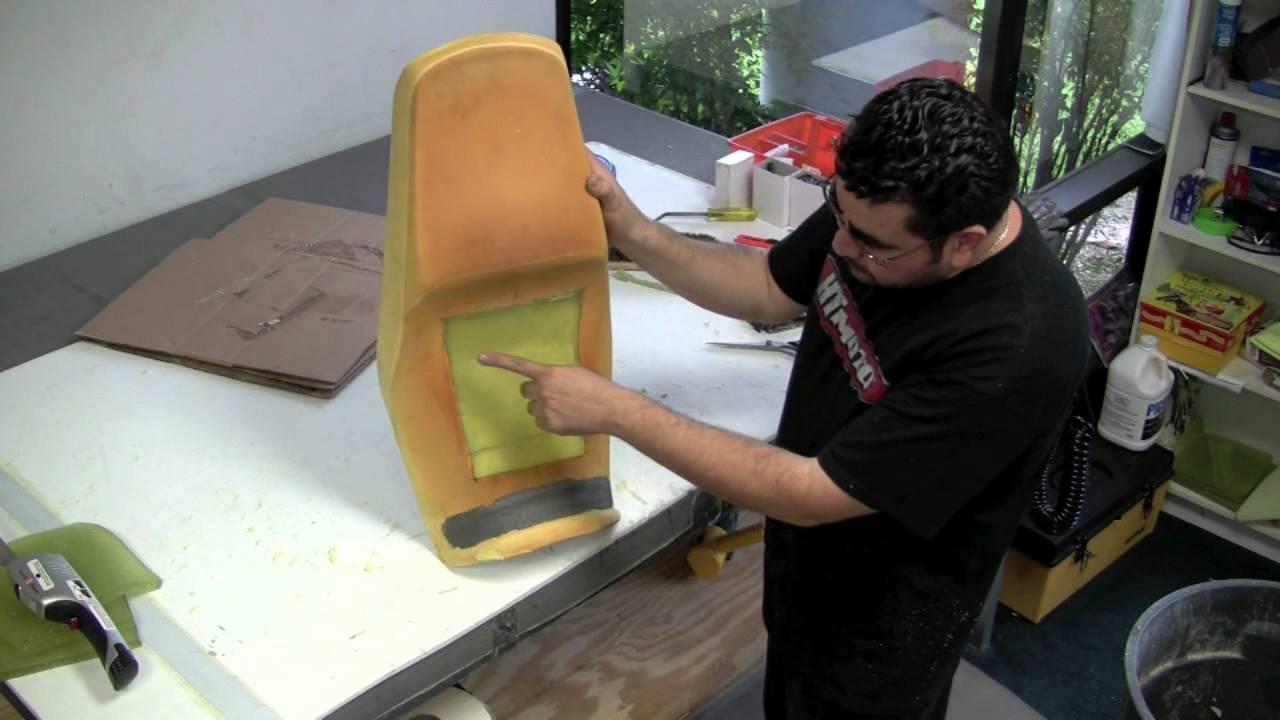 Diy Custom Motorcycle Seat Amp Gel Installation Youtube