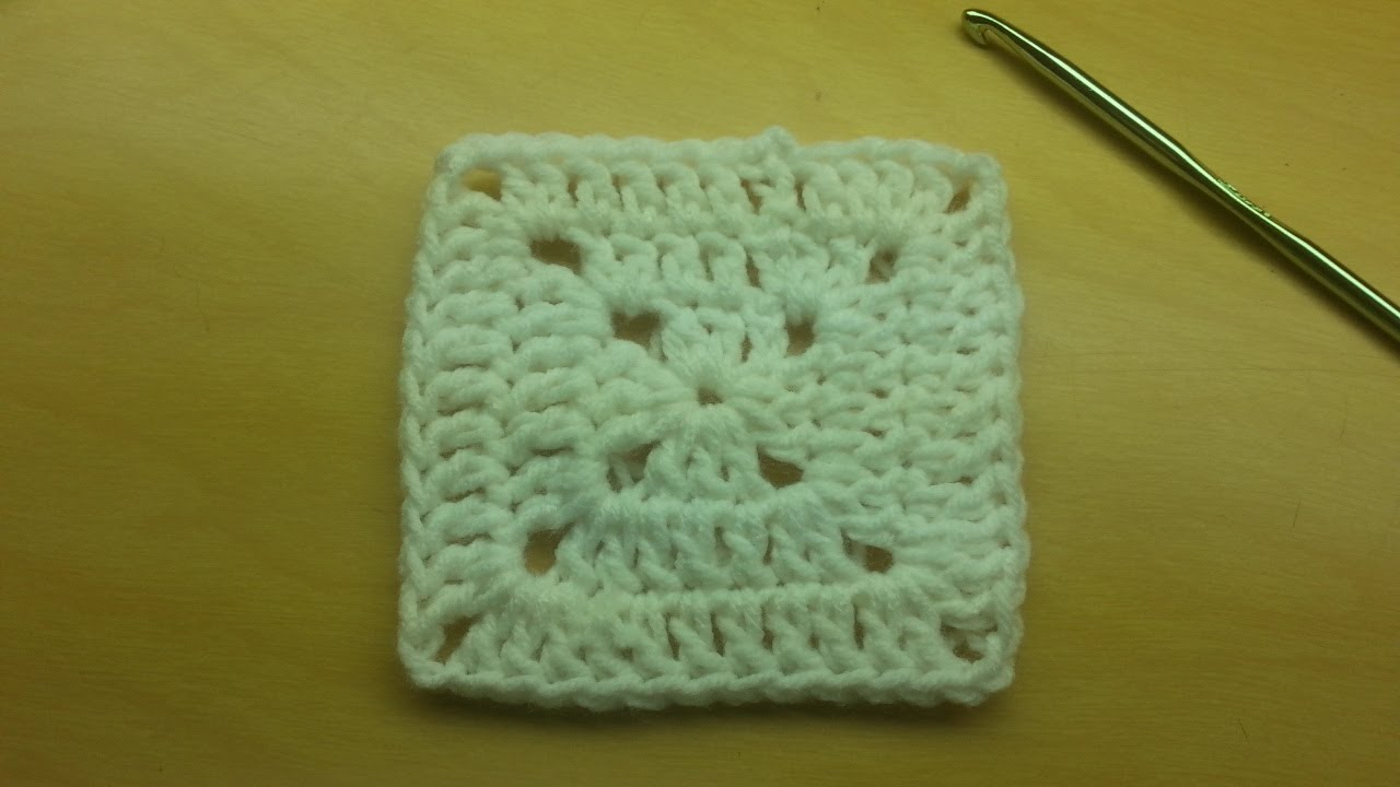 Crocheting Granny Squares On Youtube : ... this Basic Granny Square Free TUTORIAL CROCHET GRANNY SQUARE - YouTube