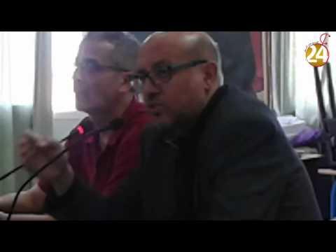 مصطفى الشناوي فى لقاء تواصلي بتزنيت