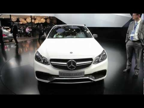 2014 Mercedes E-Class and E63 AMG - 2013 Detroit Auto Show