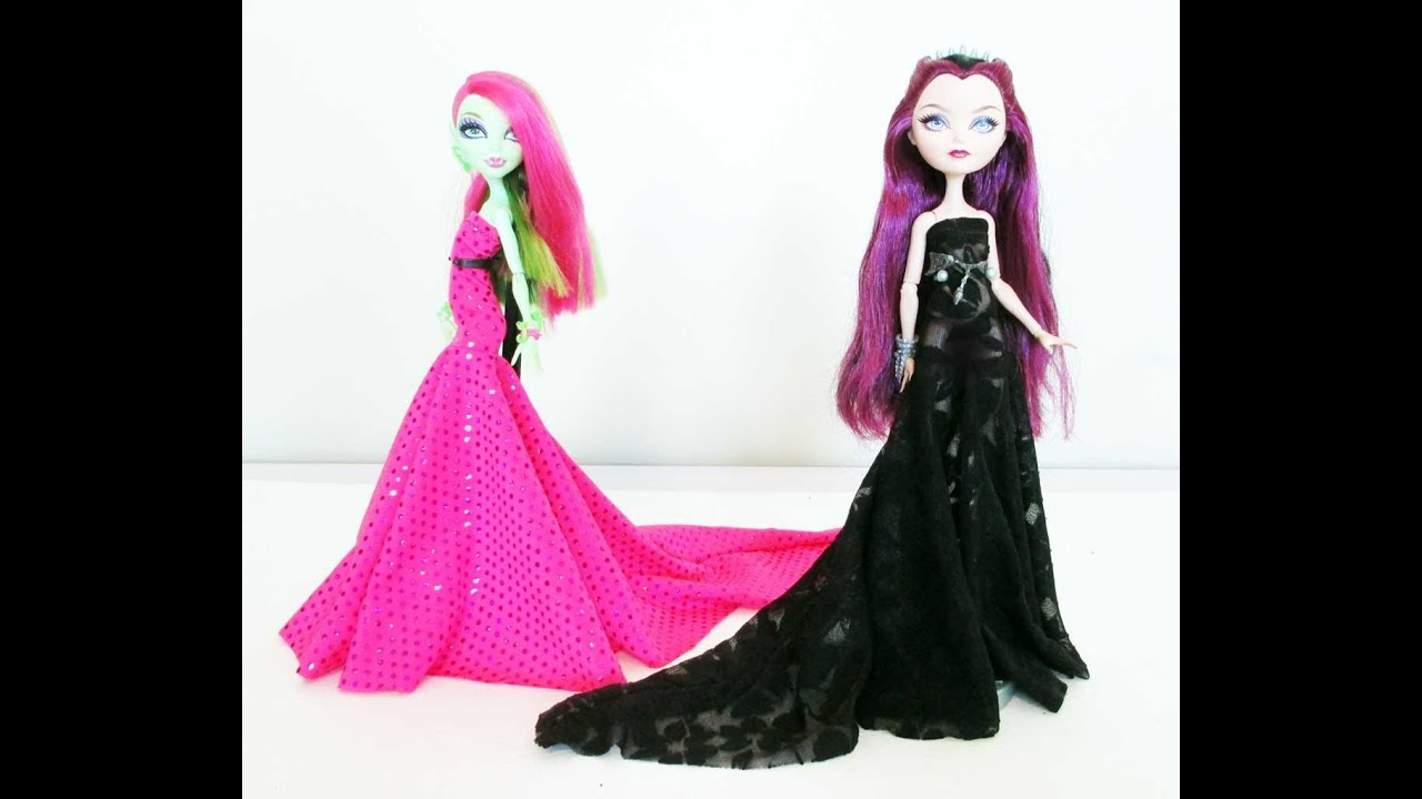 Как сделать платье на куклу монстер хай 471
