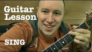 SING ★ Guitar Lesson ★ EASY ★ Ed Sheeran