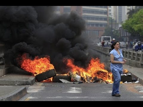 UPDATED : Anti-Government Protests In Venezuelan Kill 13 (VIDEO)