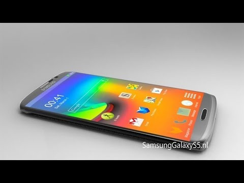 NEW Samsung Galaxy S5 AMAZING Android 4.4 KitKat Render Concept 2014