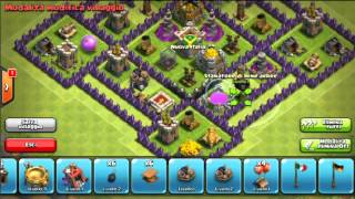 Clash Of Clans:Nice Town Hall Lv 8 #2 Farming Base!!