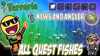 Terraria xbox quest with best friend 121 stampylonghead for Terraria fishing bait