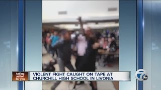 Violent Fight Caught On Tape At Churchill High School In