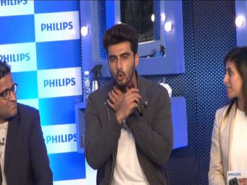 Arjun Kapoor As A Philips Brand Ambassador
