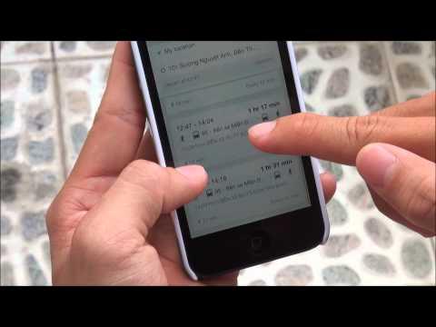 Tinhte.vn - Dùng Google Maps đi tới  nơi cần đến bằng xe bus
