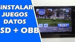 Como Instalar Juegos Android Con Datos [sd-obb] Facilisimo