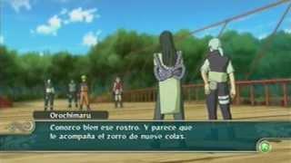 Naruto Vs Orochimaru El Zorro De Las 4 Colas Naruto
