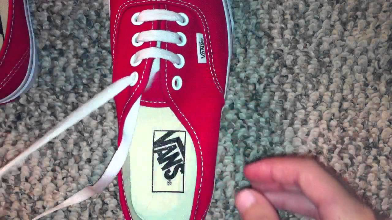 How To Bar Lace Keds Shoes